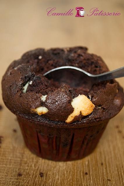 Muffins au chocolat atomiques de Bernard