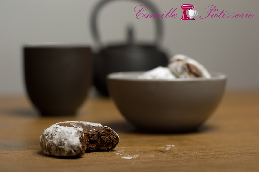 Crinkles chocolat tout moelleux !