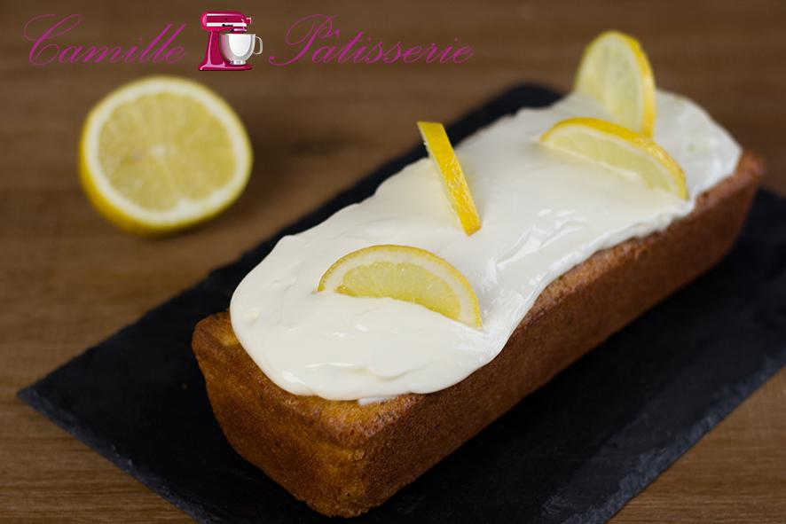 Cake au citron et à la menthe