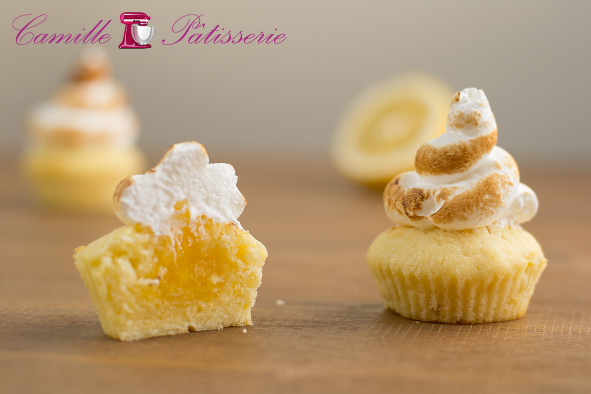 Cupcakes au citron meringué