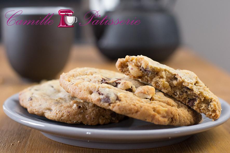 Cookies chocolat noisettes : luttons contre l'automne !
