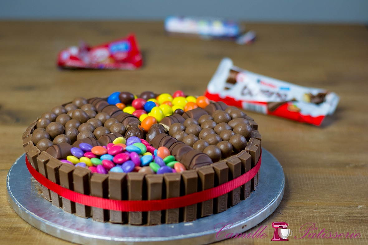 Gateau bonbons pour le telethongourmand camille p tisserie - Gateau en bonbon ...