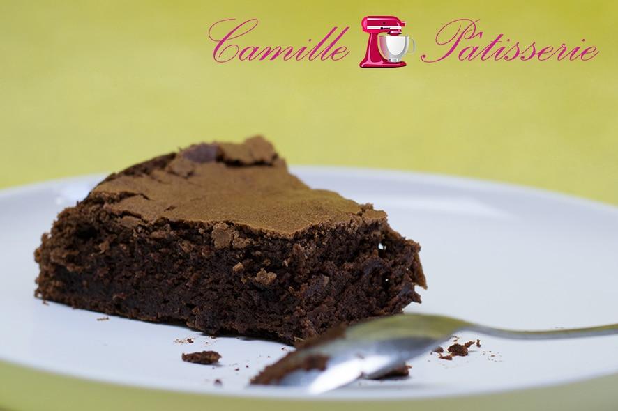 Fondant au chocolat sans gluten de chez Marlette