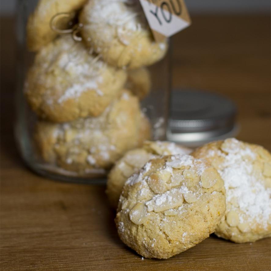 Petits biscuits aux amandes pour dire merci !