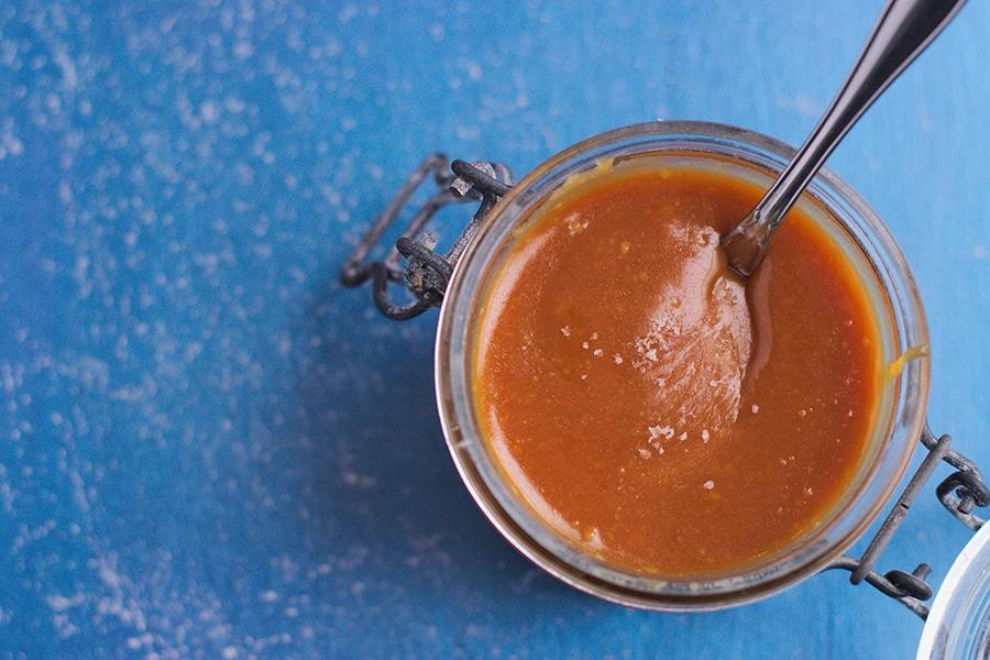 Sauce caramel au sel de Guérande