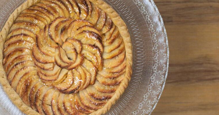 La tarte aux pommes façon CAP pâtissier