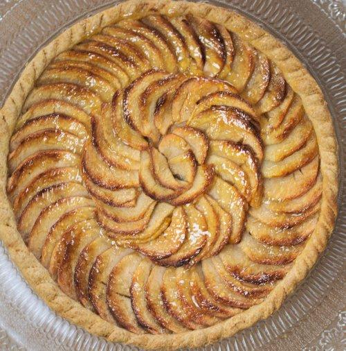 La Tarte Aux Pommes Facon Cap Patissier Camille Patisserie