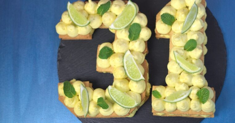 Number cake mojito